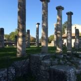 Pillars in the Saepinum forum