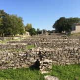Roman foundations at Saepinum