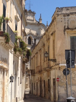 Baroque architecture in Lecce