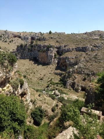 craggy ravines of Basilicata