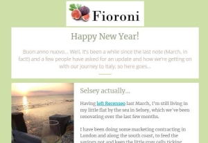 Fioroni newsletter