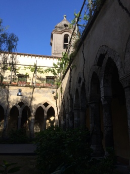 cool, quiet cloisters