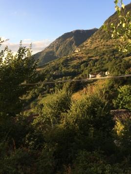 The mountains of Villa Celiera