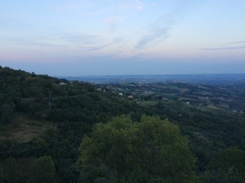 Awe-inspiring views, whilst mountain biking