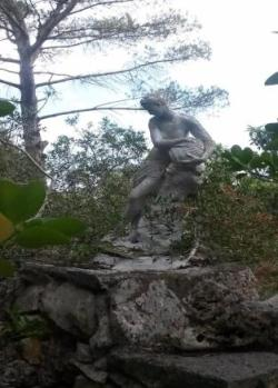 classical garden statue