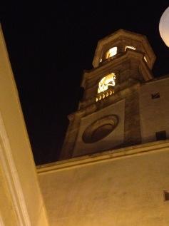 Lucera at night