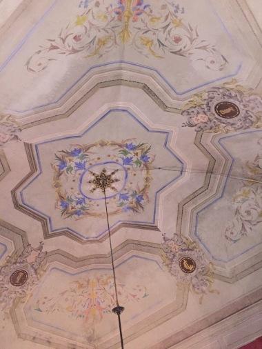 porcelein ceiling
